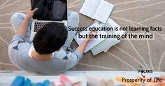 Prosperity of Life | Rachel Krider | Shane Krider | Personal Development | Success Education | Inspiration | Graphic Design | Quote | Education