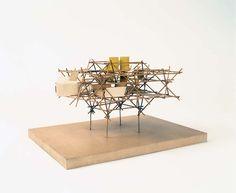 Yona Friedman   Ville Spatialle   1959-1960
