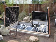 10 best filtration images on pinterest backyard ponds for Koi pond pool filter
