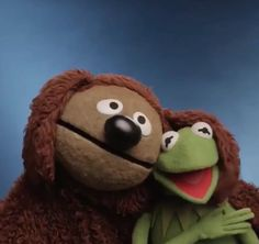 Rowlf and Kermit