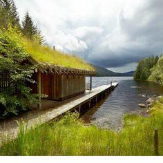Green Roof Sauna, Inverness-Shire, Scotland