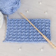 Learn how to crochet the simple yet uniquely textured Crunch Stitch with this easy tutorial! Perfect for all beginners!