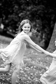 little girls, black & white, parks  family & lifestyle photography   Sydney Northern Beaches portrait & lifestyle photographer