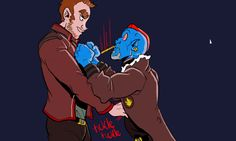 Steal From Everyone Galaxy Comics, Yondu Udonta, Love My Boyfriend, Peter Quill, Chris Pratt, Really Funny Memes, Good Good Father, Marvel Dc Comics, Guardians Of The Galaxy
