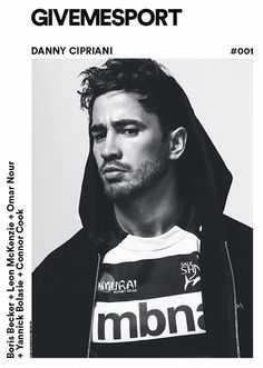English Rugby Player Danny Cipriani teams up with photographer Christian Oita for the colour GIVEMESPORT Magazine story captured with styling and creative d Rugby Gear, Scottish Rugby, English Rugby, Magazine Cover Design, Magazine Covers, Fashion Tape, Male Fashion, Oita, Sports Magazine