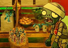 Festa Plants vs Zombies - Sueli Coelho - Decor Ambientes e Eventos
