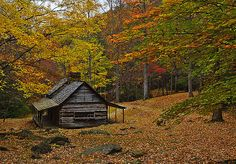 Noah Ogle built this cabin and farmed 400 acres in the 1800's. When  Great Smoky Mountains National Park was formed later, the cabin was  preserved intact.