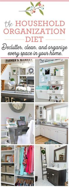 Join in this year long plan to systematically declutter, clean and organize every room in your home. You can do it! Free printables included to keep you on track.