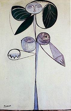 Pablo Picasso Flower