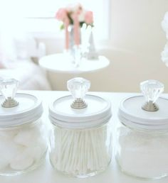 Ideas Diy Crafts For The Home Decoration Awesome Mason Jars For 2019 Diy Home Decor Rustic, Diy Home Decor Projects, Diy Projects To Try, Craft Projects, Pot Mason Diy, Mason Jars, Candle Jars, Candle Holders, Mason Jar Projects