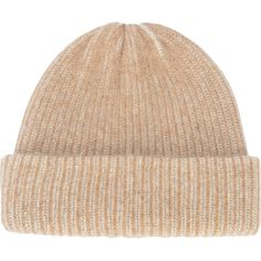 The Elder Statesman cashmere Watchman hat ( 355) ❤ liked on Polyvore  featuring accessories 294f1af29b83