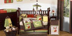 Forest Animals Nursery Designs: Crib Bedding Sets : Easy Nursery Decor