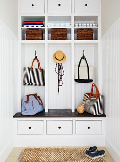 """Acquire excellent tips on """"laundry room storage diy cabinets"""". They are actually available for you on our site. Laundry Room Storage, Diy Storage, Storage Ideas, Storage Baskets, Storage Hooks, Storage Drawers, Storage Shelves, Mudroom Cubbies, Architecture Design"""
