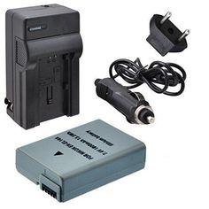 Decoded EN-EL14A Battery with Rapid Travel Charger for Nikon D3100 D3200 D3300 D5100 D5200 D5300 & D5500 SLR Cameras - Li-ion battery & Charger for Nikon Cameras - Lithium Ion EN-EL14A EN-EL14