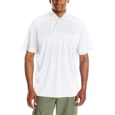 Blackhawk Tac Life Range Polo Shirt White X-large for sale online Polo Shirt White, Tee Shirts, Tees, Range, Sleeves, Mens Tops, Clothes, Oil Water, Men's Clothing
