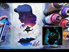 Brilliant Draw A Glass Ideas. Exquisite Draw A Glass Ideas. Spray Paint Artwork, Spray Paint Canvas, Spray Paint Projects, Diy Canvas Art, Spray Painting, Dibujos Zentangle Art, Disney Silhouettes, Weird Art, Pastel
