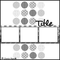 Page Challenge #2 - Make a page using this sketch - must have the circles.