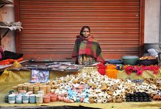 She's A Colorful Seller by Indranil Dutta on 500px