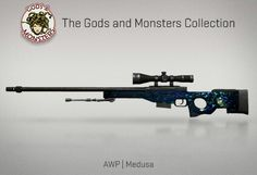 Counter-Strike Global Offensive: The Gods and Monsters Collection: AWP Medusa