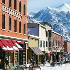 A Former Gold Rush town, Telluride is now home to a ski resort, theTelluride Film Festival and many celebrities.