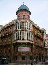Casa Pando-Argüelles in Vitoria-Gasteiz, Basque Country, Spain.