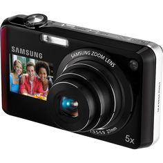 Samsung DualView MP Digital Camera with Optical Zoom and LCD Screen and Front Screen (Blue) Cameras Nikon, Samsung Camera, Passion Project, Camera Reviews, Zoom Lens, Fujifilm Instax Mini, Walmart, Electronics, Lasting Memories