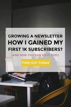 I only started building my newsletter a few months ago and, oh boy, I was wrong I haven't started this sooner. Today, I'm going to show you how I went from having 0 to 1000 newsletter subscribers and share some tips + tricks on how you can do it too!