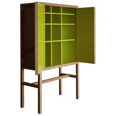 Inside-Out Credenza Lungo, Fine Lacquer Finish | From a unique collection of antique and modern cabinets at https://www.1stdibs.com/furniture/storage-case-pieces/cabinets/