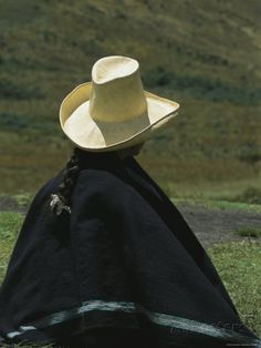 Traditional Peruvian straw hat