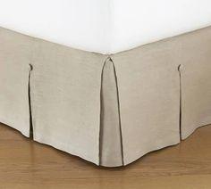 king duvet 2 shams, bed skirt set oat color - Google Shopping Cotton Bedding, Linen Bedding, Bedding Sets, Daybed Bedding, Bed Linens, Pottery Barn, Camas King, Daybed Covers, Duvet Covers
