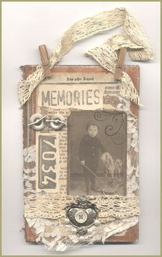 """""""Memories"""" Book Cover Collage"""