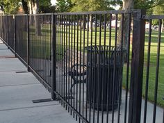 Black iron fence panels are fit for Every event that needs representation…