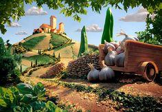 Toskana manzarası