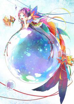 e-shuushuu kawaii and moe anime image board Manga Anime, Manga Art, Anime Hair, Chibi, I Love Anime, Awesome Anime, Fantasy Kunst, Fantasy Art, Anime Style