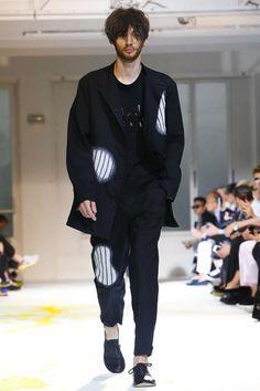 Yohji Yamamoto Menswear Spring Summer 2015 Paris