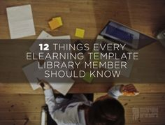 12 Things Every eLearning Template Library Member Should Know  The eLearning Template Library is full of great assets. This post will highlight the must-know capabilities of the world's most awesome eLearning Library.  Learn more here: http://bit.ly/1EVkYq3  #eLearning #eLearningTemplates #eLearningAssets #eLearningStock