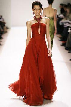 Monique Lhuillier Autumn/Winter 2005 Ready-To-Wear Collection | British Vogue