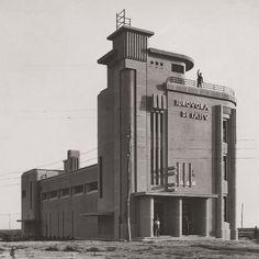 Idrovora di Sassu, Arborea, Flavio Scano, Inaugurazione 1934