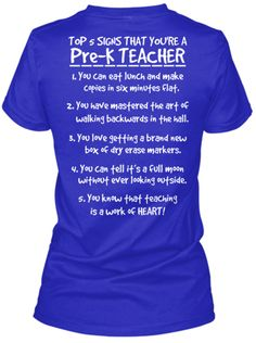 Pre K Quotes Kindergarten Teacher List Shirts  Kindergarten Teachers