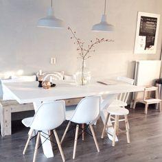 Interior decor home inspiration white natural