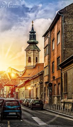 Novi Sad sunset