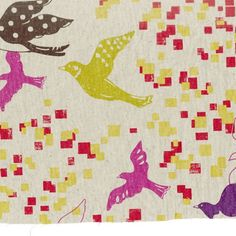 Putty+Birds+of+a+Feather,+Echino+by+Kokka+at+Creative+Quilt+Kits  Use code-PINTEREST10 at checkout to save 10 % off your entire order!