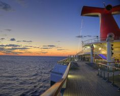 Sunrise over Cozumel from the Carnival Triumph - been there! Seen it! Love it! Going back in Jan!