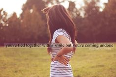 Tied Together With A Smile- Taylor Swift