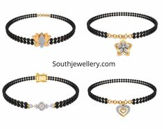 Hand mangalsutra Bracelet is trending which look stylish for office wear and with western wear. Checkout latest designs and shop online