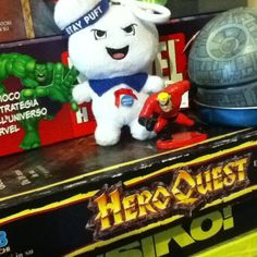 On instagram by giuseppebenin #heroquest #microhobbit (o) http://ift.tt/1WYlfAi #nerdlife #risiko  #statwars #disney #infanzia #pixar #boardgames #fantasy #ghostbusters #marvel #hulk #mrincredible #