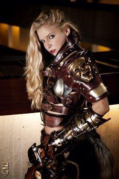 "emporioefikz: ""Steampunk Warrior Trina Mason by Skinz-N-Hydez """