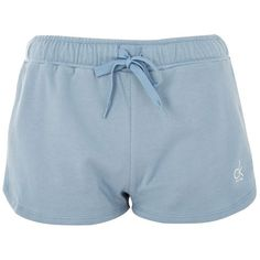 Cotton Jersey Shorts by Calvin Klein ($48) ❤ liked on Polyvore featuring shorts, blue, cotton jersey, draw string shorts, calvin klein shorts, cotton jersey shorts and drawstring shorts