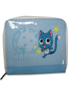 Static Fluff Anime Brings You Fairy Tail Happy Wallet/ Coin Purse | Static Fluff Anime|Static Fluff check us out at (http://www.staticfluff.com/bags-and-wallets/)