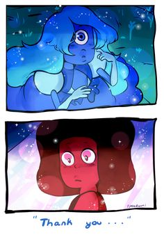 Ruby and sapphire.